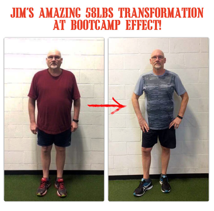 Jim has lost over 40 lbs with The Bootcamp Effect