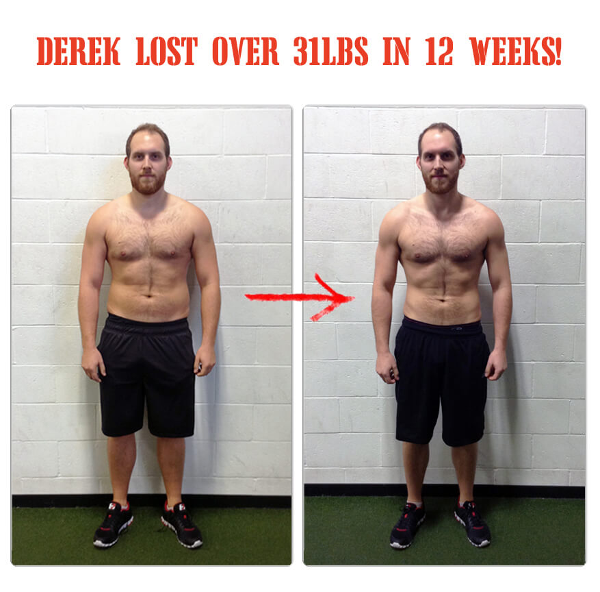 With the help of The Bootcamp Effect in Langley, Derek has lost over 31 pounds in 12 weeks!