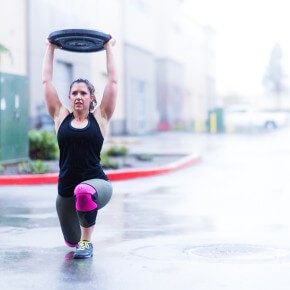 SnoRidge CrossFit_OH Lunge