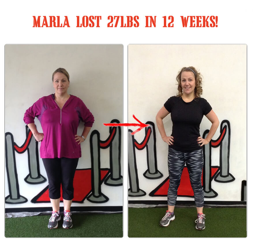 Bootcamp Effect Langley Weight Loss Challenge Personal Training Marla