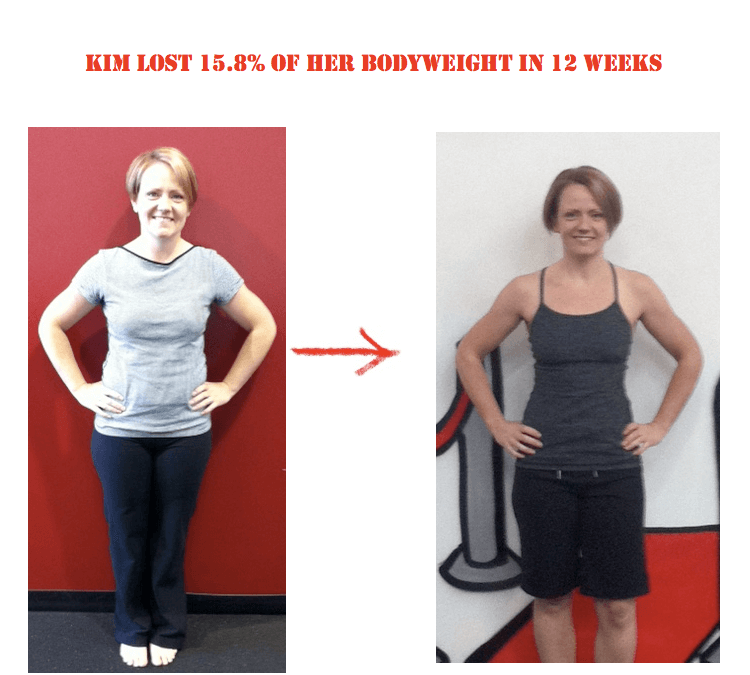 Bootcamp Effect Langley Weight Loss Challenge Personal Training Kim