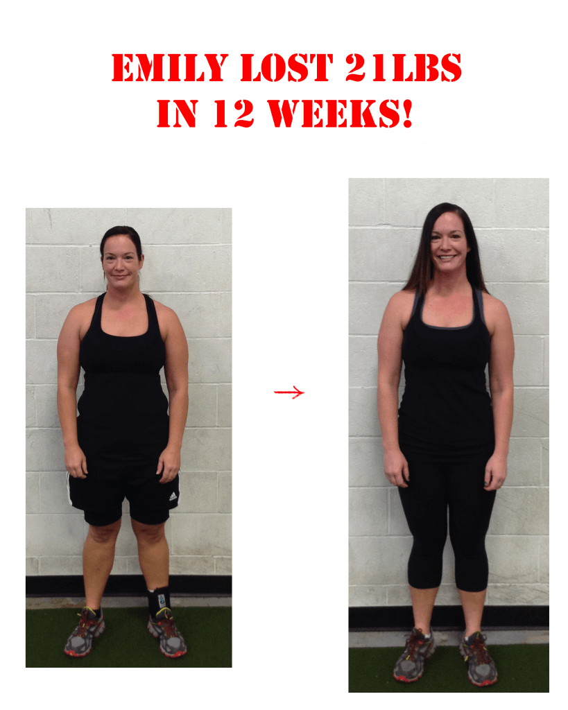 Bootcamp Effect Langley Weight Loss Challenge Personal Training Emily