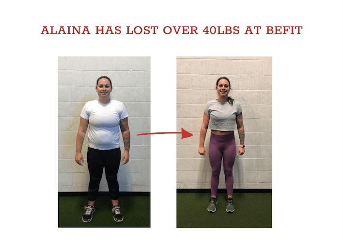 alaina weight loss results langley