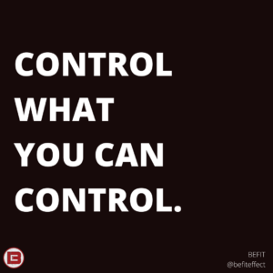 control the controllable