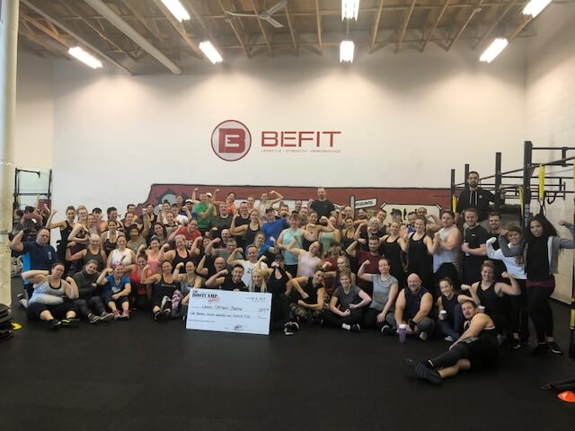 befit group picture, befit gym