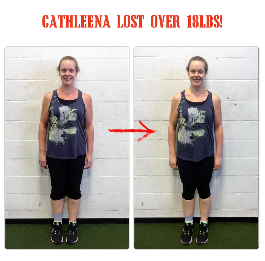 Cathleena lost over 18lbs in 12 weeks at The Bootcamp Effect in Langley!
