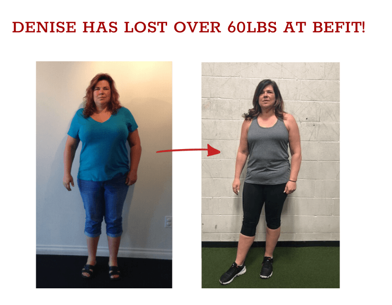 denise weight loss before and after