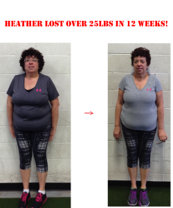 langley personal trainers, heather before and after