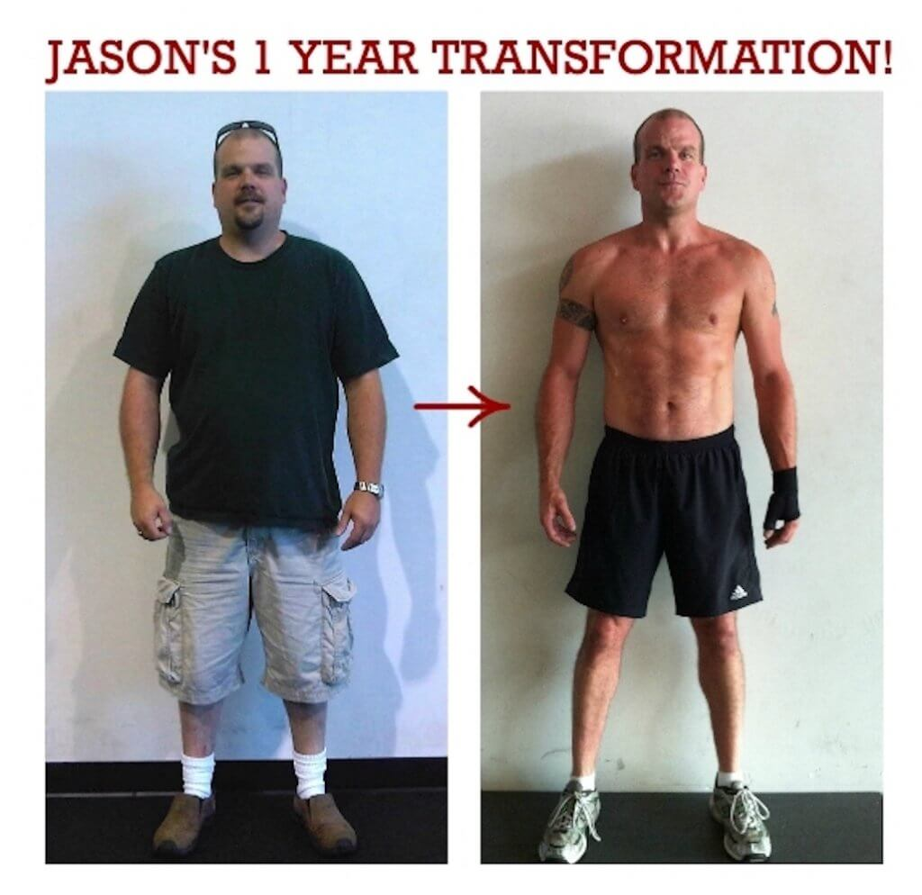 jason 1 year muscle gain, body transformation before and after