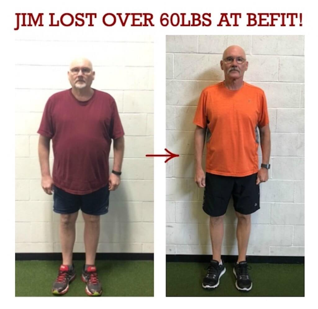 jim weight loss results