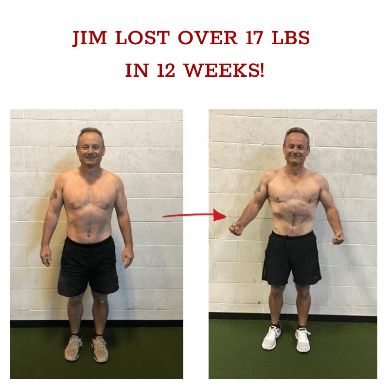 jim before and after