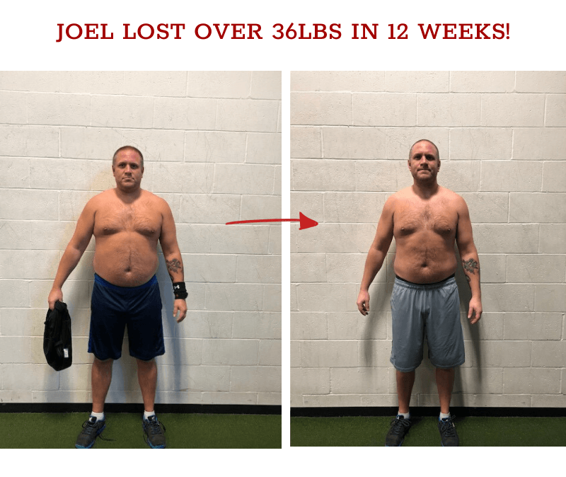 joel weight loss