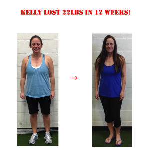 kelly before and after, langley personal training