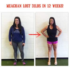 megan lost 31lbs at bootcamp