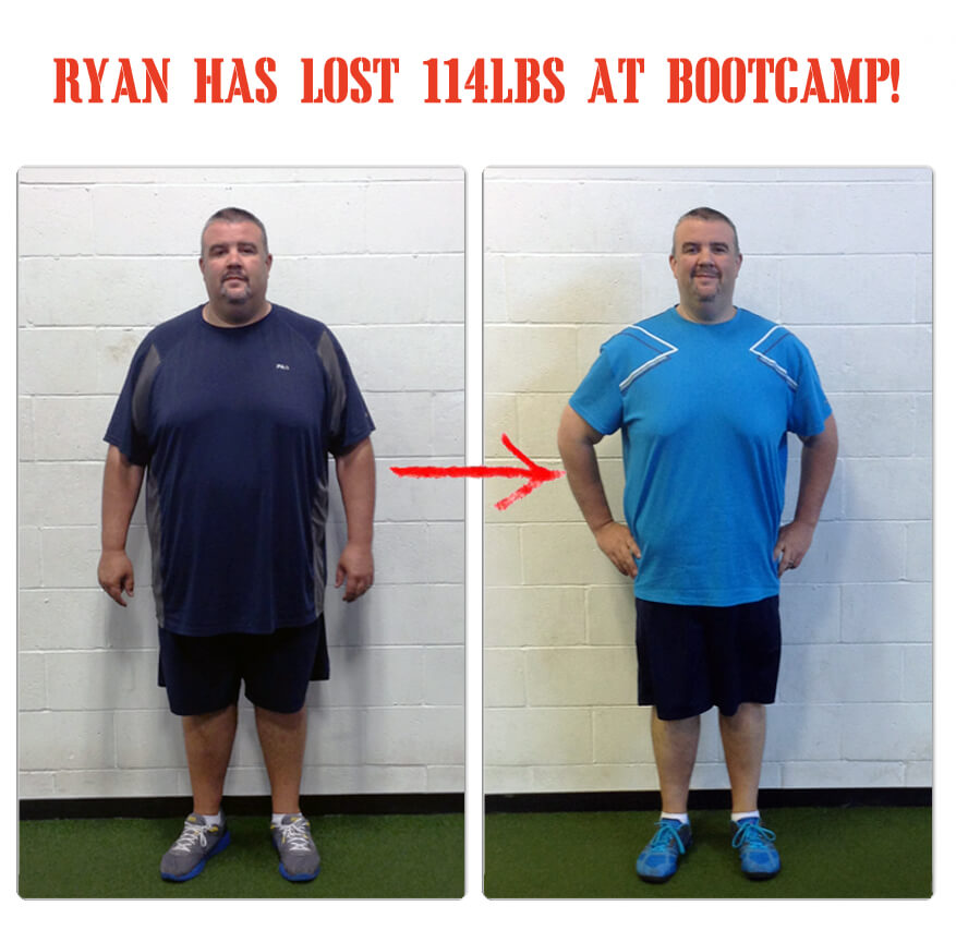 Ryan has lost 114 pounds at The Bootcamp Effect in Langley