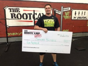 lose weight win money, giant cheque