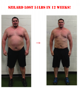 szilard before and after, personal training langley