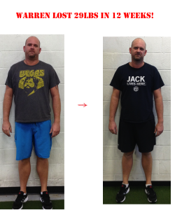 personal training in langley, warren before and after